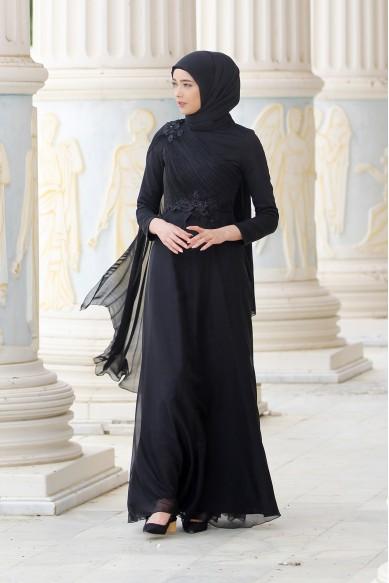 Alya Abiye - Siyah