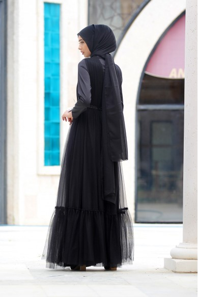 Bella Abiye - Siyah