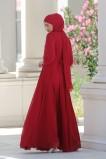 Çise Abiye - Kırmızı